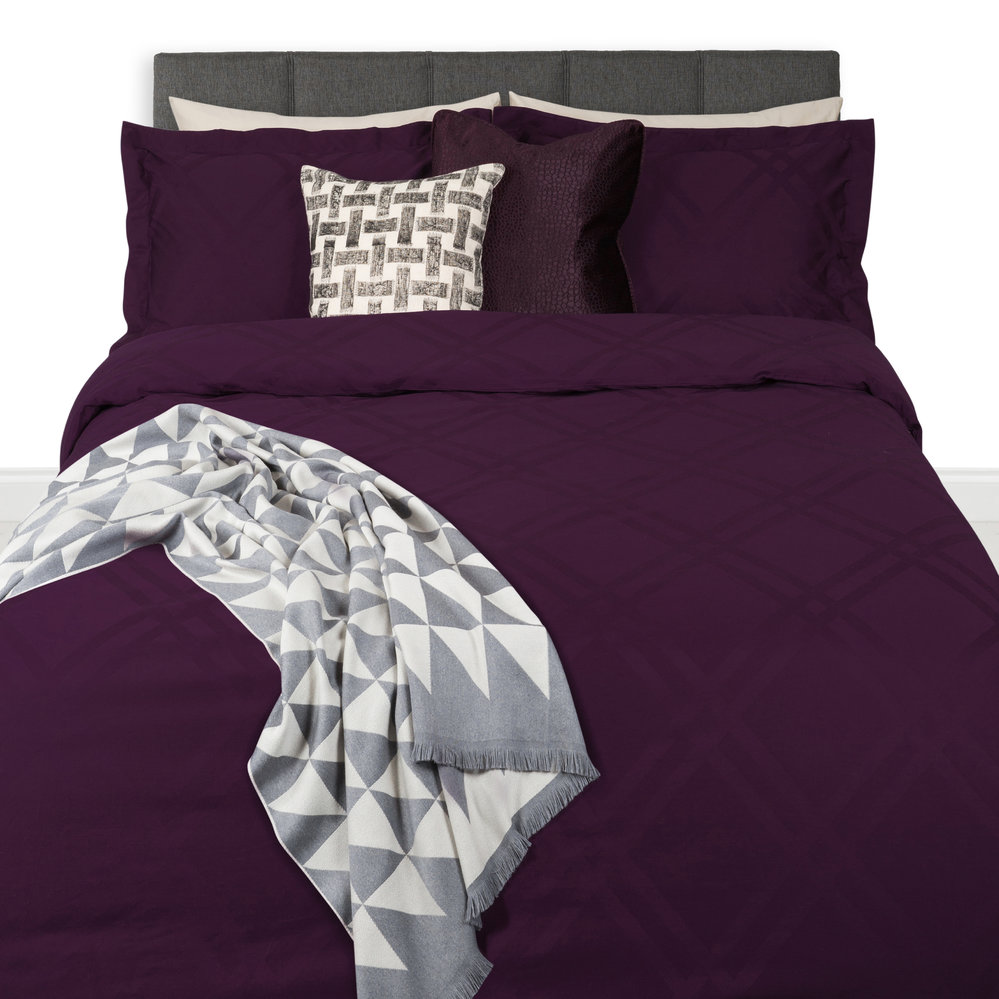 Buy A By Amara Wolf 300 Thread Count Duvet Cover Double