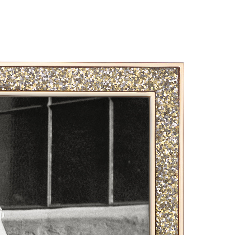kate spade new york - Simply Sparkling Photo Frame - Gold - 8x10""