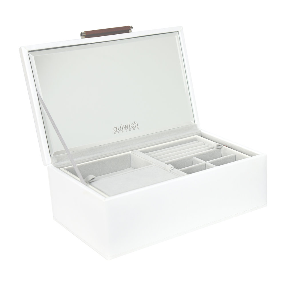 Dulwich Designs - Notting Hill Jewellery Box - White - Small