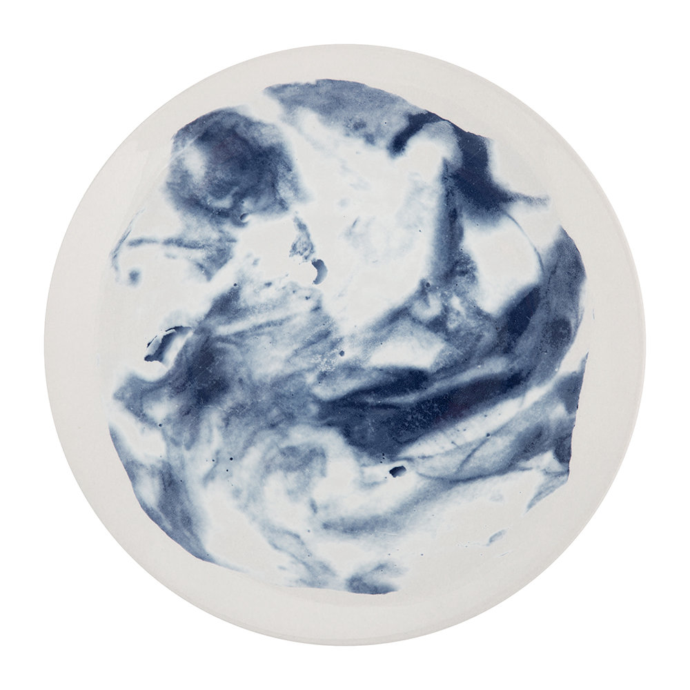 1882 Ltd - Indigo Storm Dinner Plate - Swirl