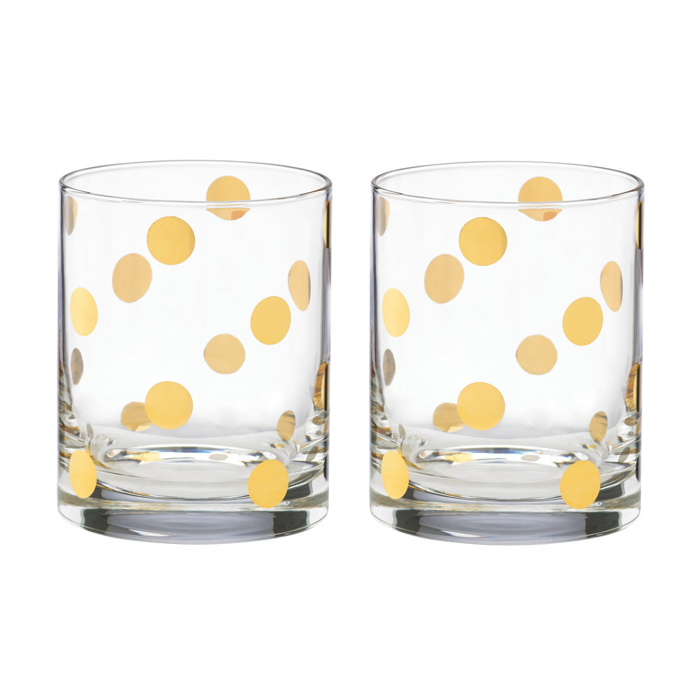 kate spade new york  Pearl Place DOF Tumblers  Set of 2