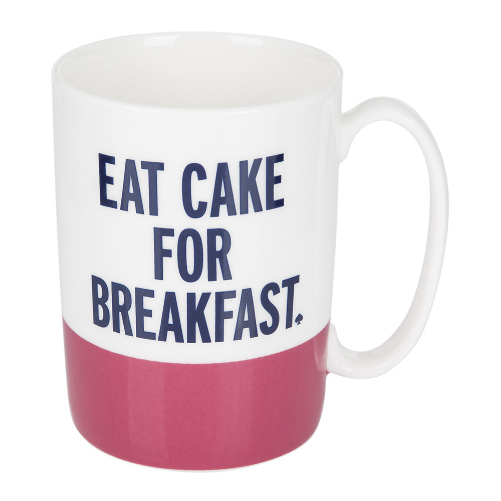 kate spade new york  Eat Cake for Breakfast Mug