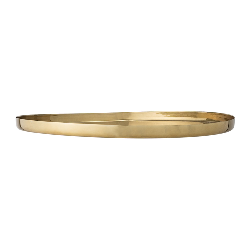 Bloomingville - Aluminum Tray - Gold - 50cm