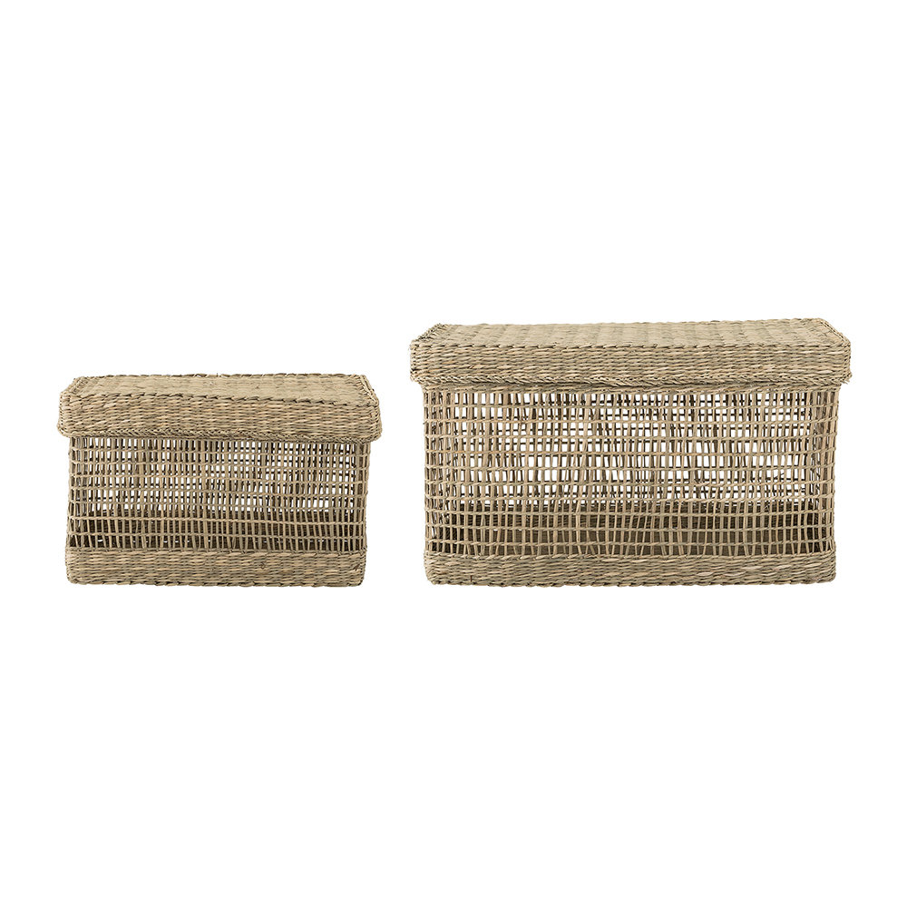 Seagrass Baskets   Natural   Set Of 2