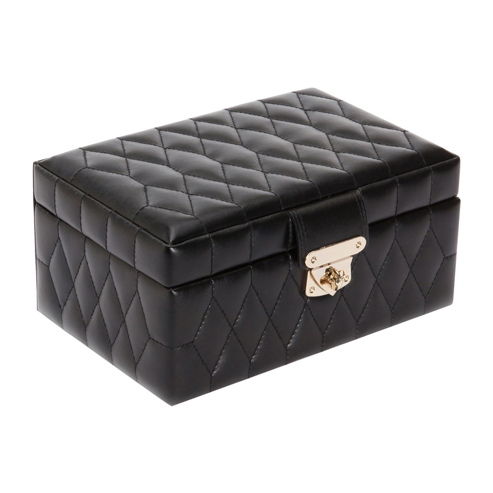 Wolf - Caroline Black Jewellery Box - Small