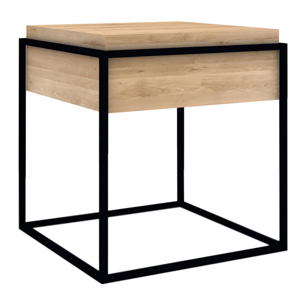 Buy Universo Positivo Monolit Side Table Small Black