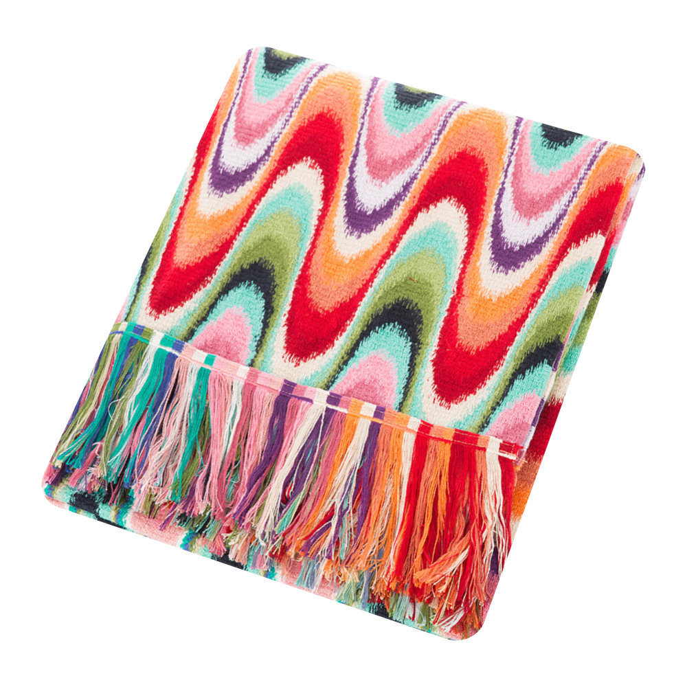 Photo of Missoni Home - Temperance Throw - 130x190cm - 100 - shop Missoni Home Linens, Bedding, Blankets, Throws online