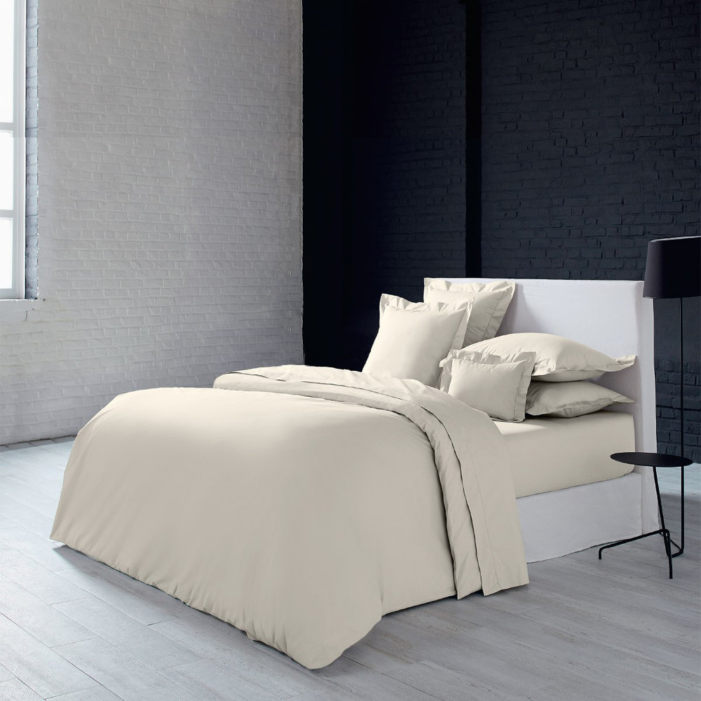 Olivier Desforges - Alcove Quilt Cover - Ivory - King