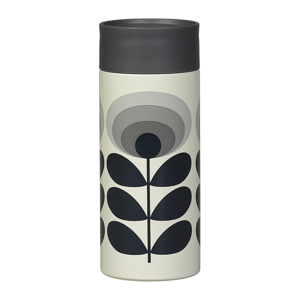 Orla Kiely  Travel Mug  350ml  70s Flower Oval