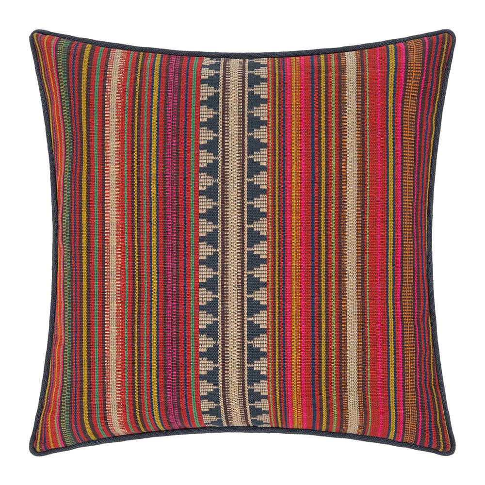 Mulberry Home - Pageant Stripe Cushion - 40x40cm
