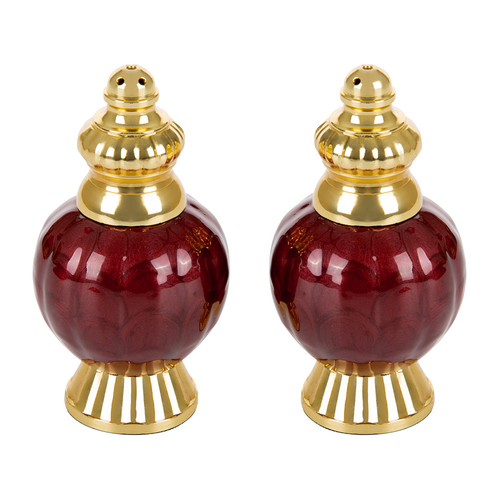 Julia Knight Julia Knight – Peony Gold Salt & Pepper Set – Pomegranate