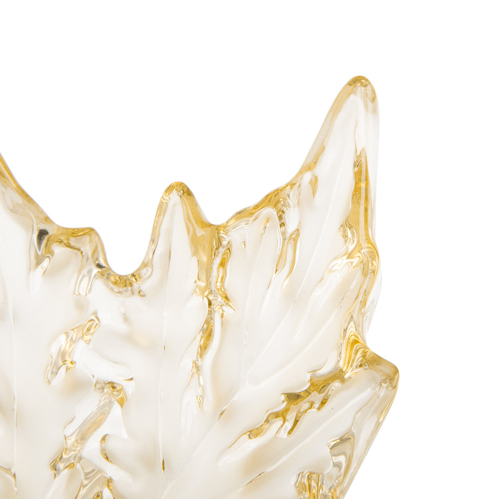 Lalique - Champs-Elysees Bowl - Gold Luster - Small