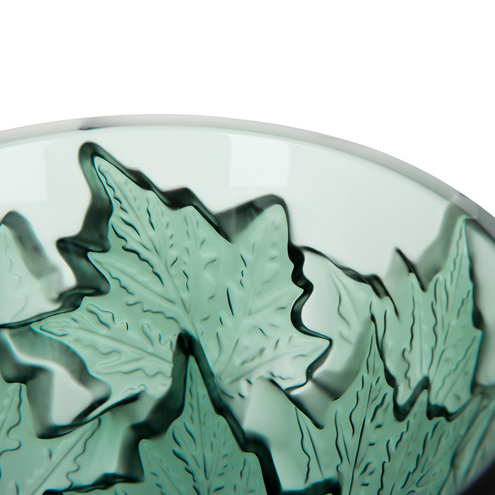 Lalique - Champs-Elysees Vase - Deep Green - Small