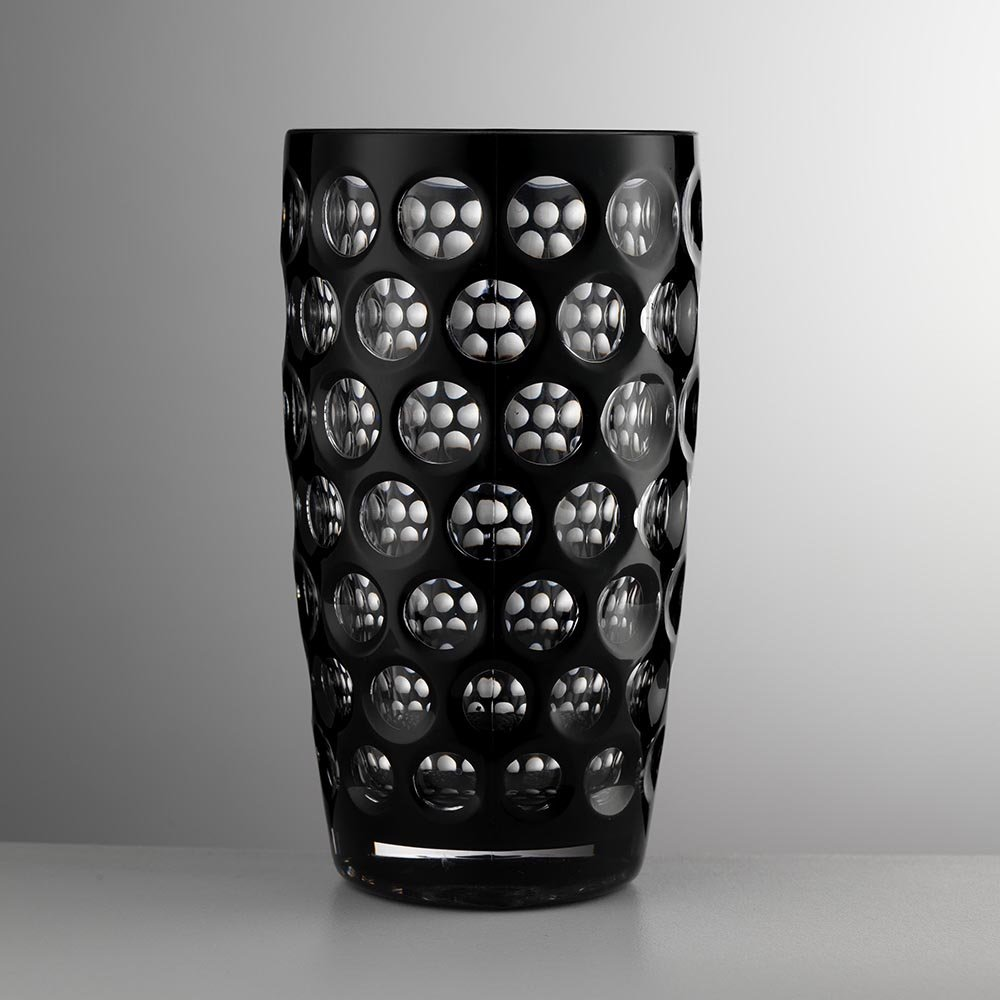 Mario Luca Giusti - High Lente Acrylic Highball Tumbler - Black