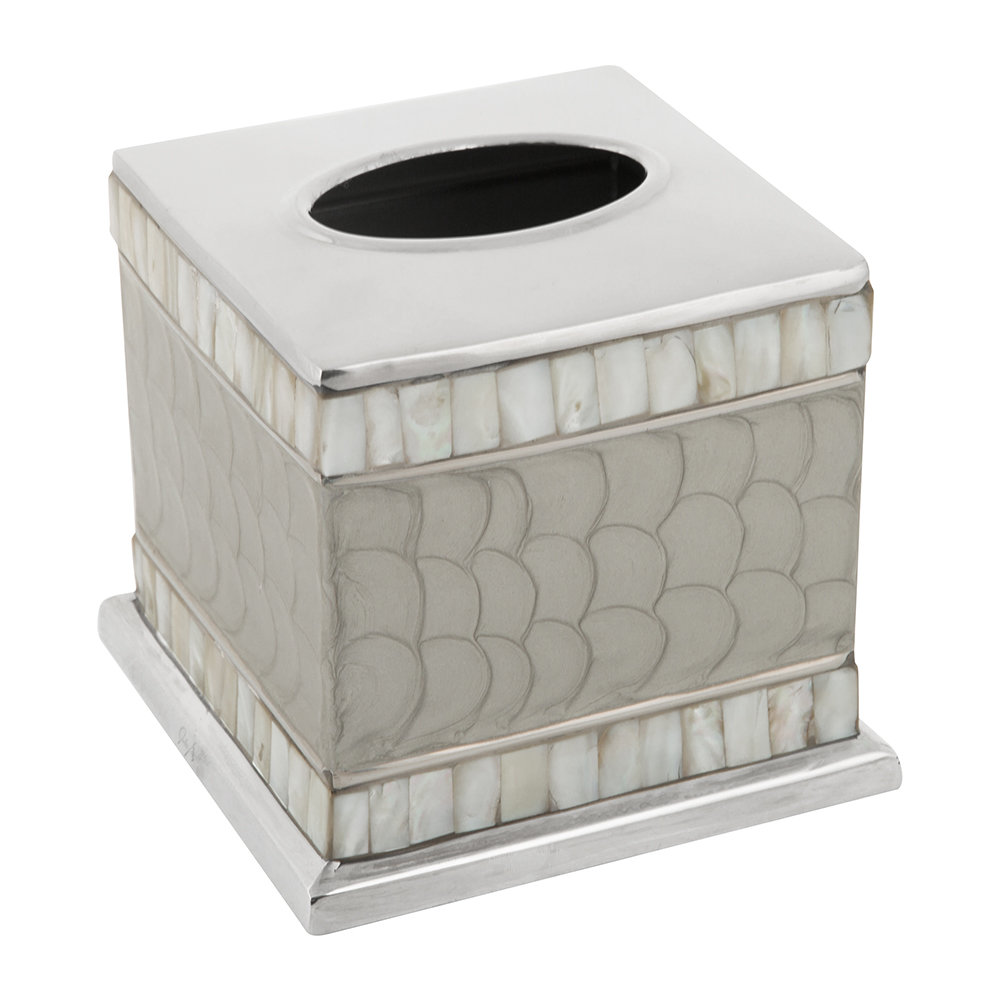 Julia Knight - Classic Tissue Box - Platinum