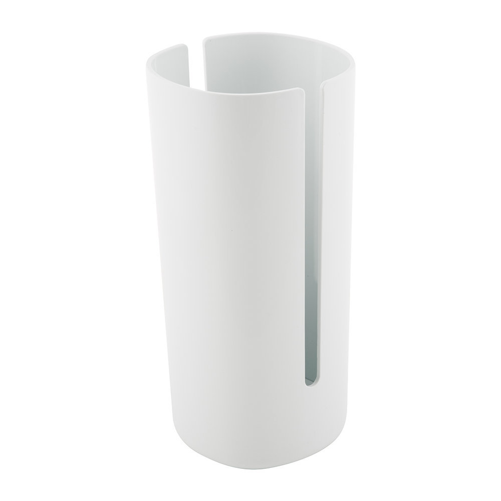 Alessi - Birillo Toilet Roll Holder - White