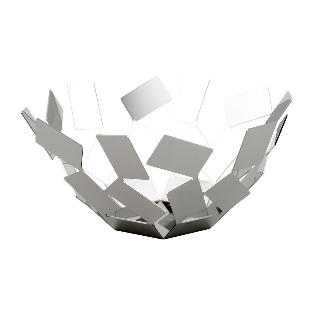 Alessi - La Stanza Fruit Bowl - Stainless Steel