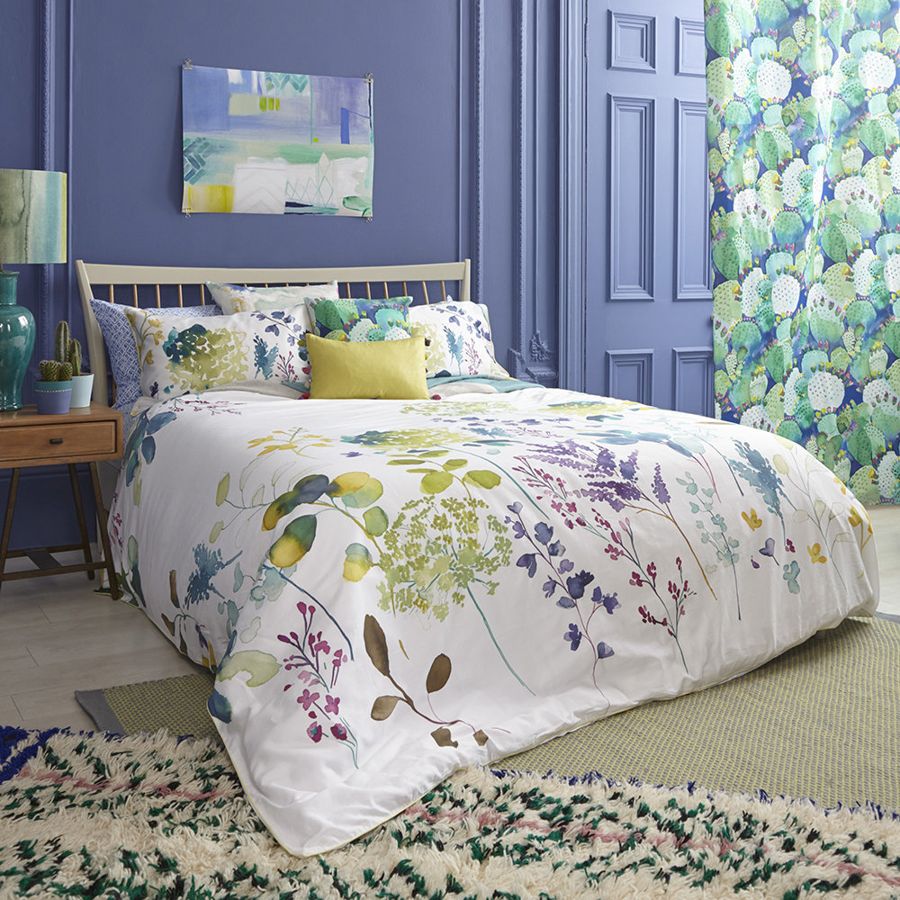 Bluebellgray - Botanical Quilt Set - Double