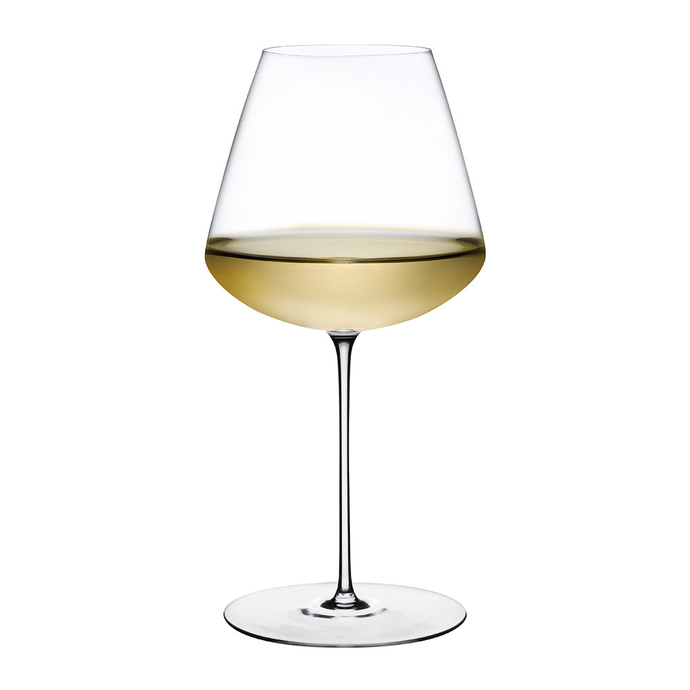 Buy nude stem zero wine glass amara for Thin stem wine glasses
