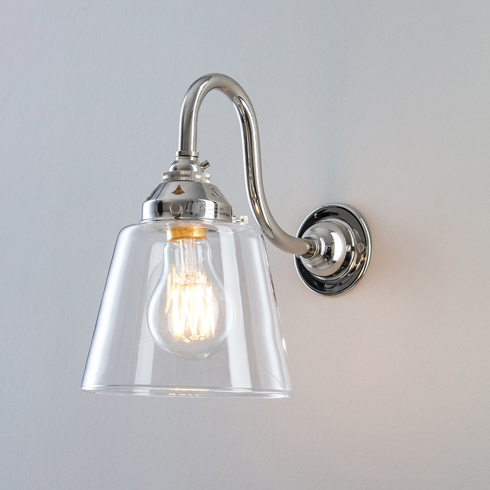 Buy Old School Electric Industrial Glass Wall Light