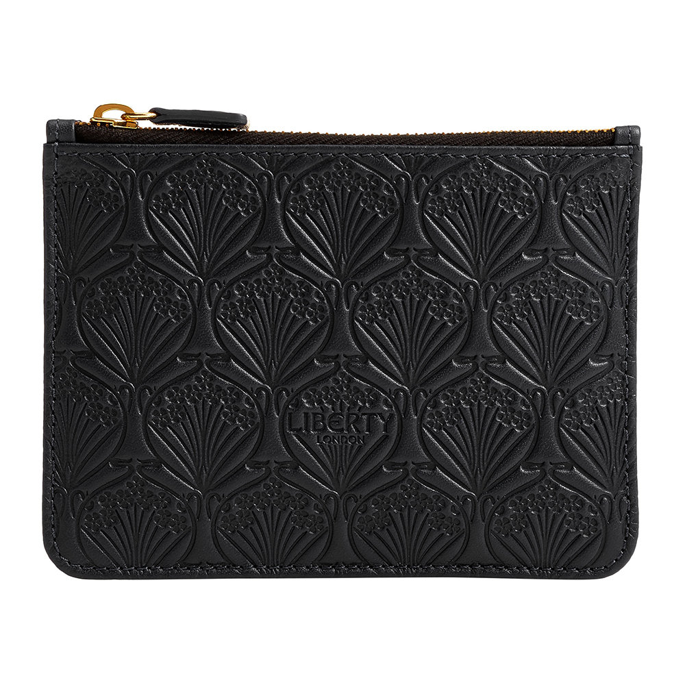 Liberty London Liberty London – Embossed Coin Pouch – Black