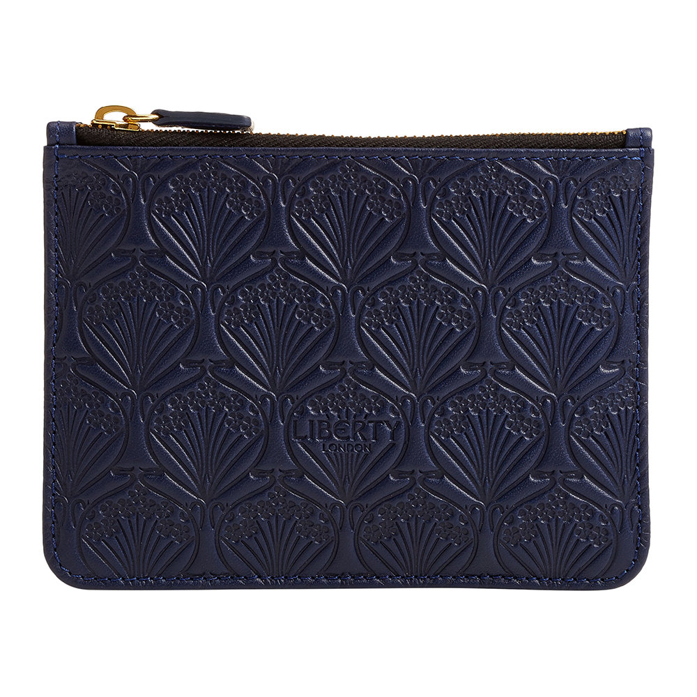 Liberty London Liberty London – Embossed Coin Pouch – Navy