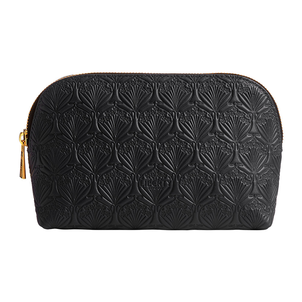 Liberty London - Embossed Cosmetic Bag - Black