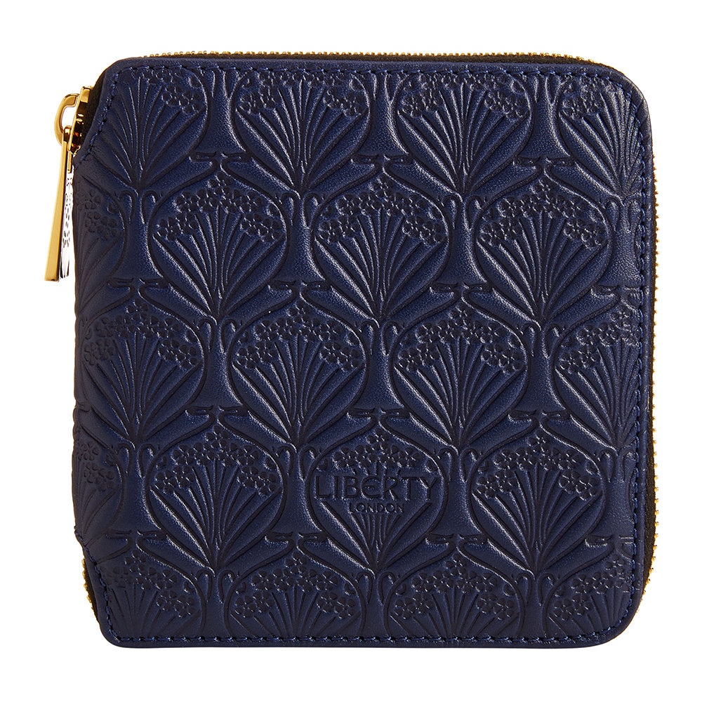Liberty London Liberty London – Navy Embossed Wallet – Small
