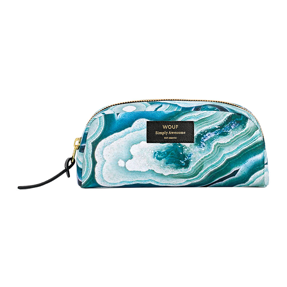 Buy Wouf Blue Mineral Cosmetic Bag   Amara ff25832b80