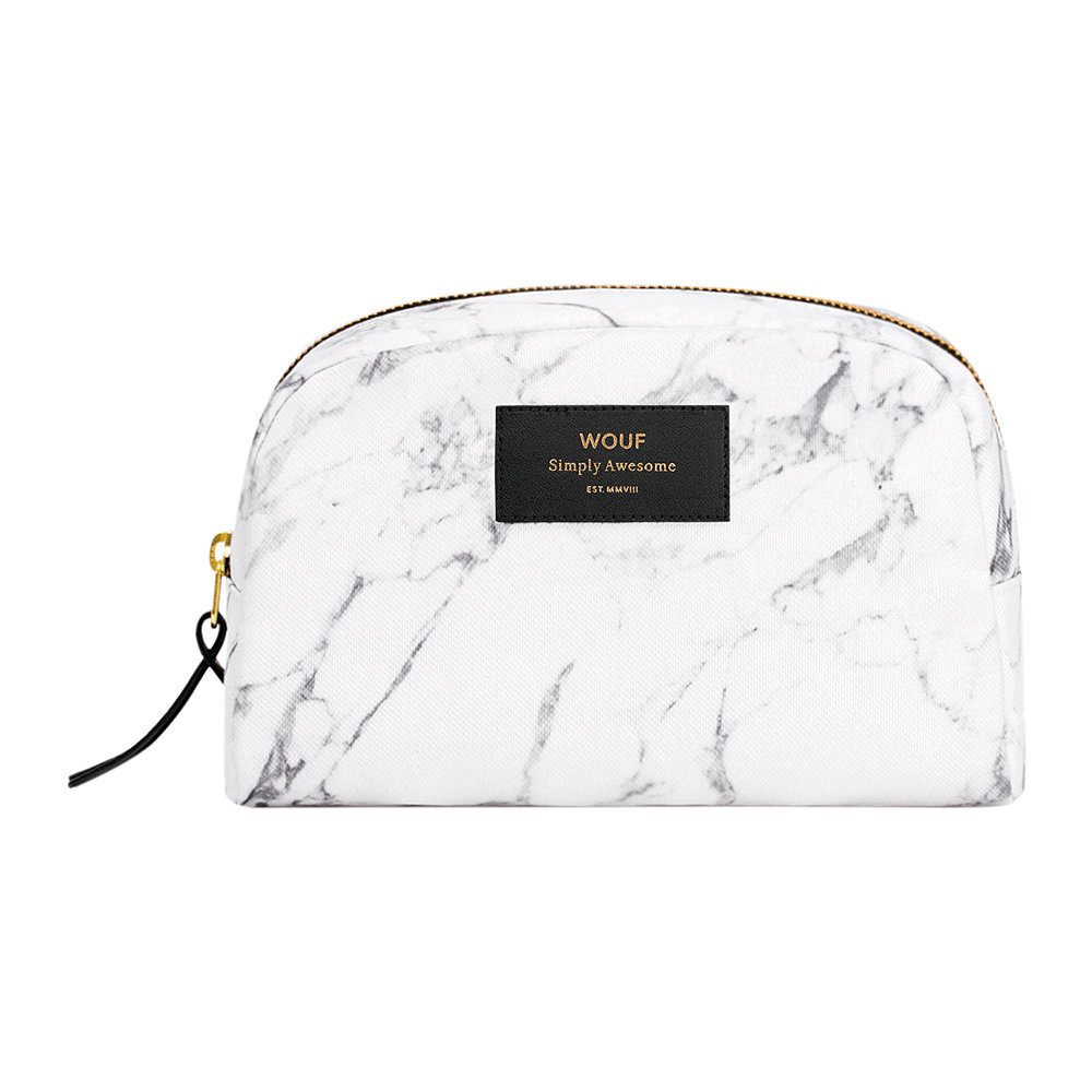 Buy Wouf Marble Cosmetic Bag - White   Amara 71a49da3fd