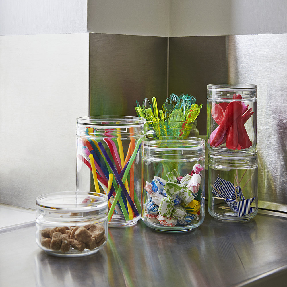HAY - Stackable Japanese Glass Jar - Extra Large