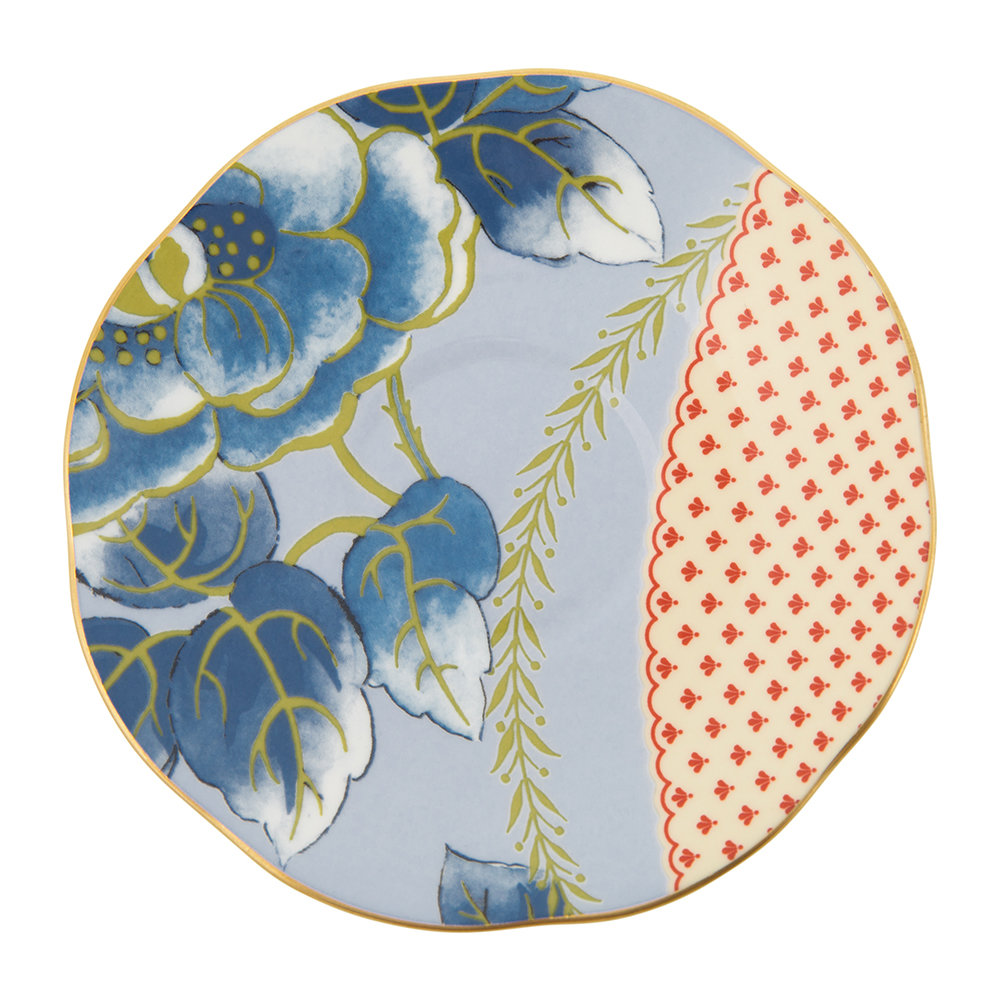 Wedgwood - Butterfly Bloom Espresso Cup and Saucer - Set of 2