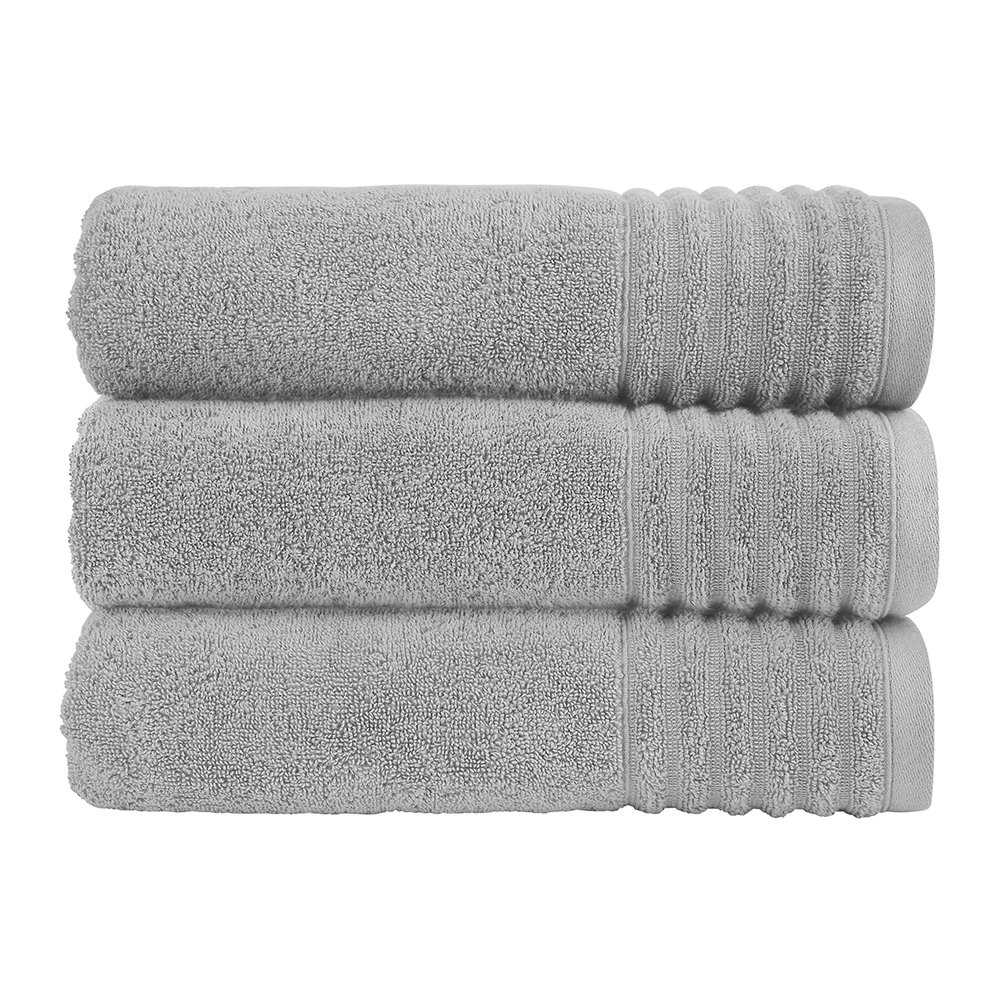Christy - Adelaide Towel - Dove Grey - Face Cloth