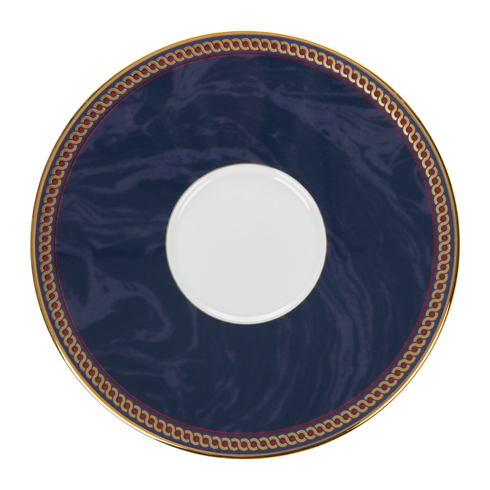 Wedgwood - Byzance Espresso Cup & Saucer - Set of 4