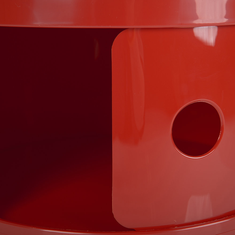 Kartell - Componibili Smile Storage Unit - Red - ;)