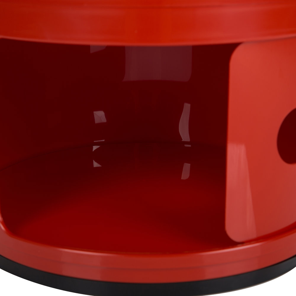 Kartell - Componibili Smile Storage Unit - Red - :)