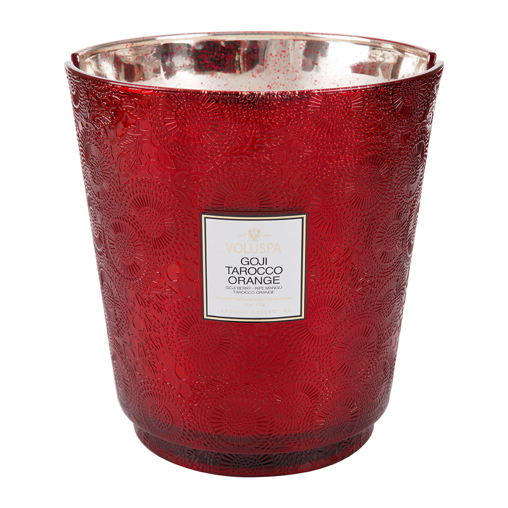 Voluspa - Japonica Hearth Candle - 3.5kg - Goji & Tarocco Orange