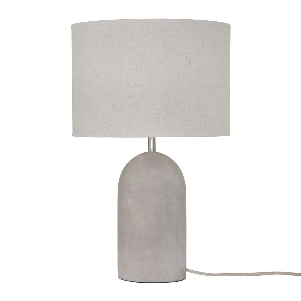 Buy Garden Trading Millbank Bullet Table Lamp - Polymer Concrete ...