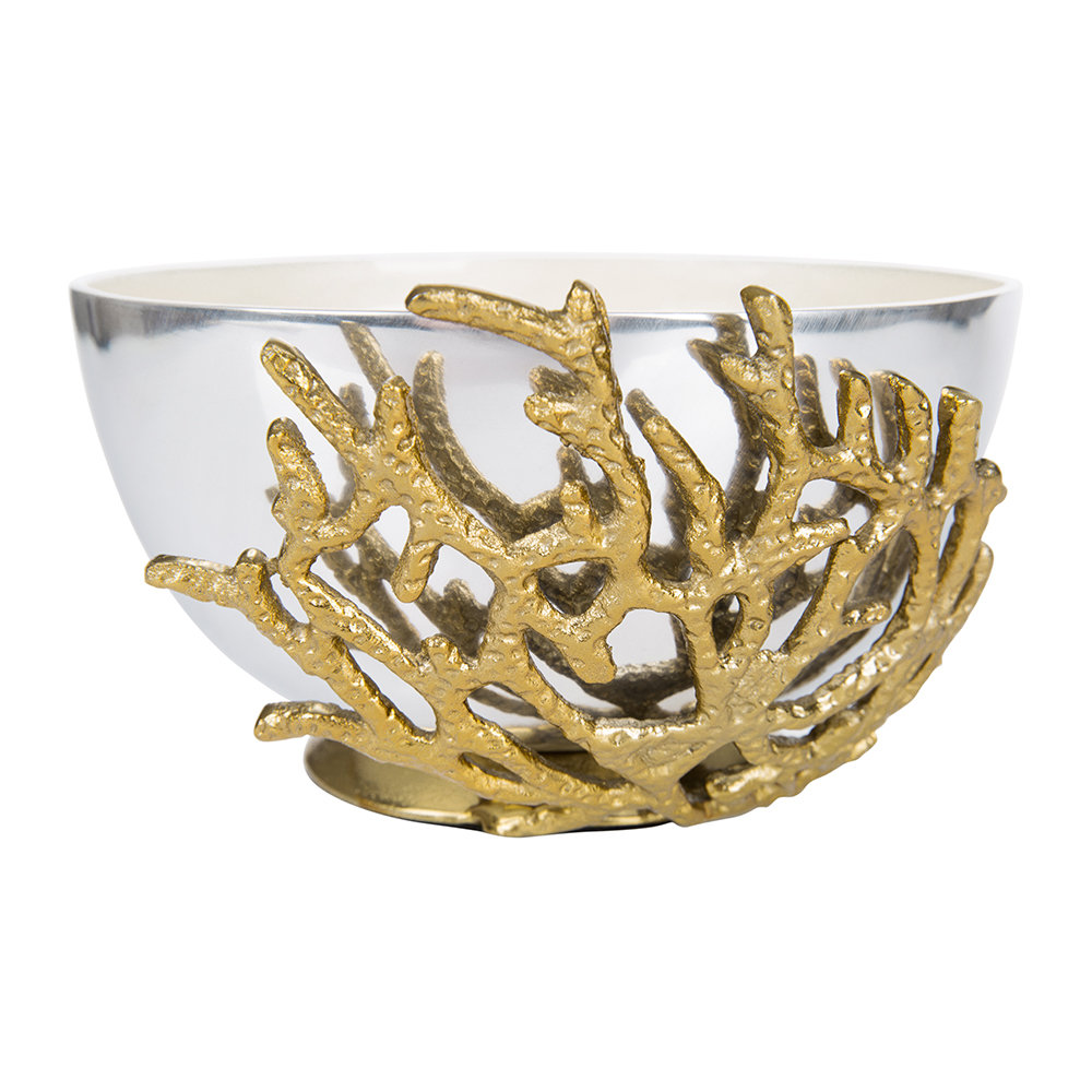 Julia Knight - Bol Corail - Neige - 19cm