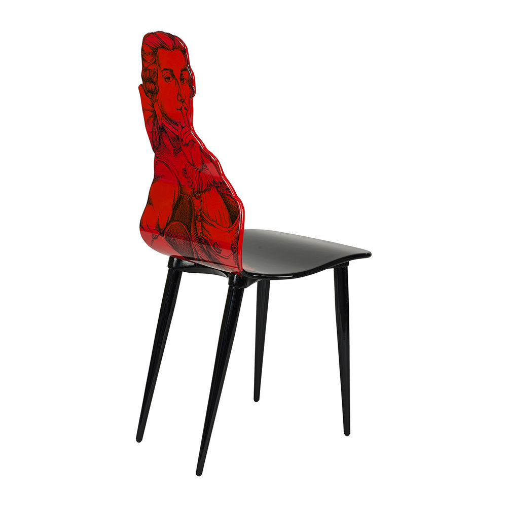 Fornasetti - Don Giovanni Chair - Red