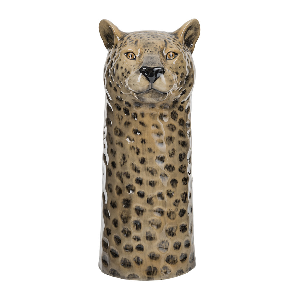 Buy Quail Ceramics Ceramic Leopard Vase Large Amara