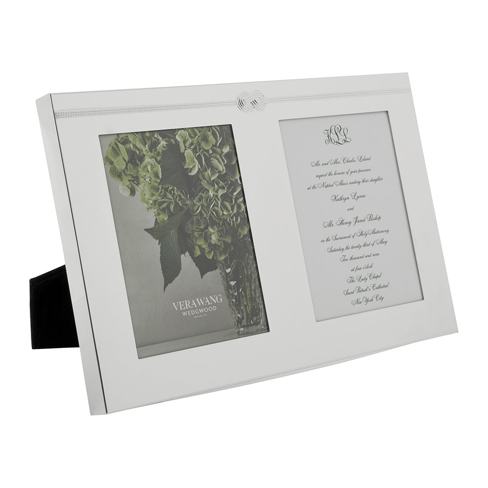 Buy Vera Wang For Wedgwood Infinity Double Invitation Frame Amara