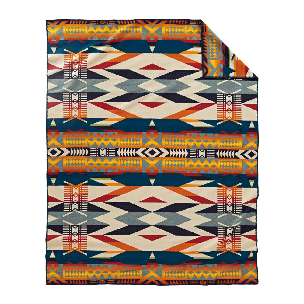 Pendleton - Blanket Robe - Fire Legend