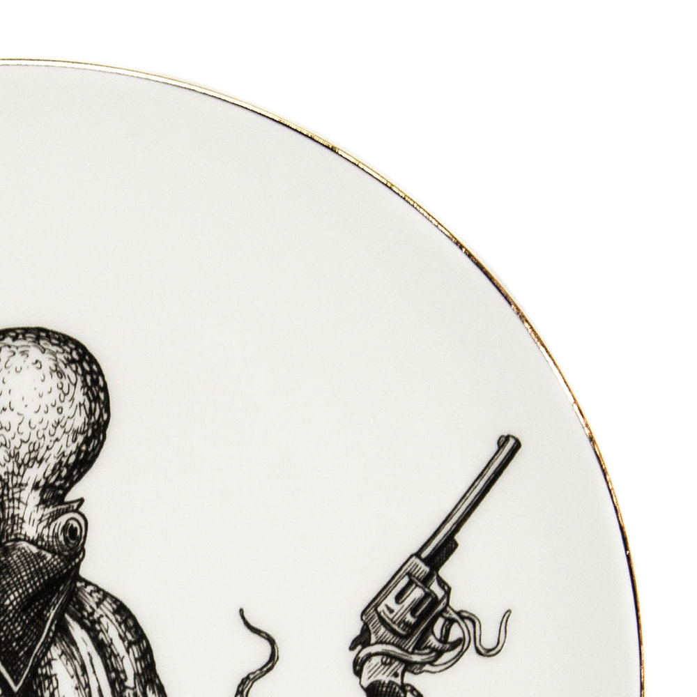 Rory Dobner - Perfect Plates - Omar The Outlaw Octopus - Medium