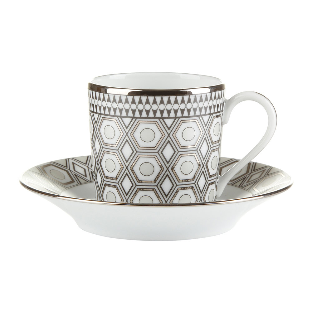 Haviland  Hollywood Coffee Cup  Saucer