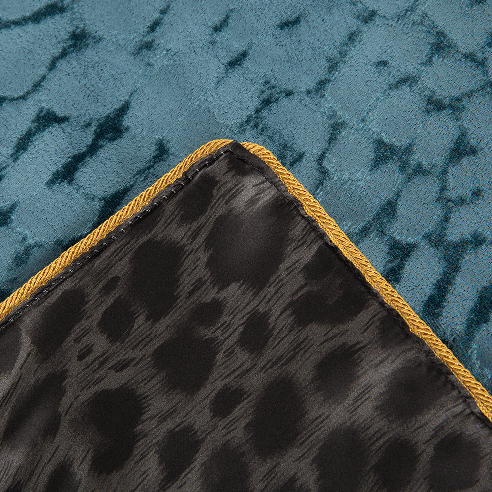 Roberto Cavalli - Sigillo Throw - 130x180cm - Teal
