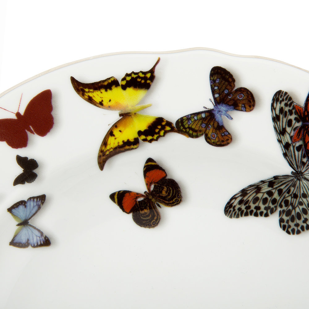 Christian Lacroix - Butterfly Parade Soup Plate