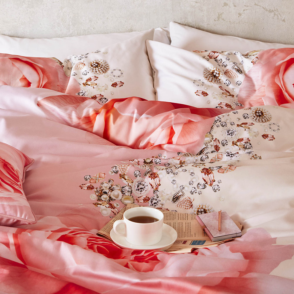 and bedding the pintuck canopy pink decor bedroom valencia cover duvet set inspiration products blush crane sidezoom