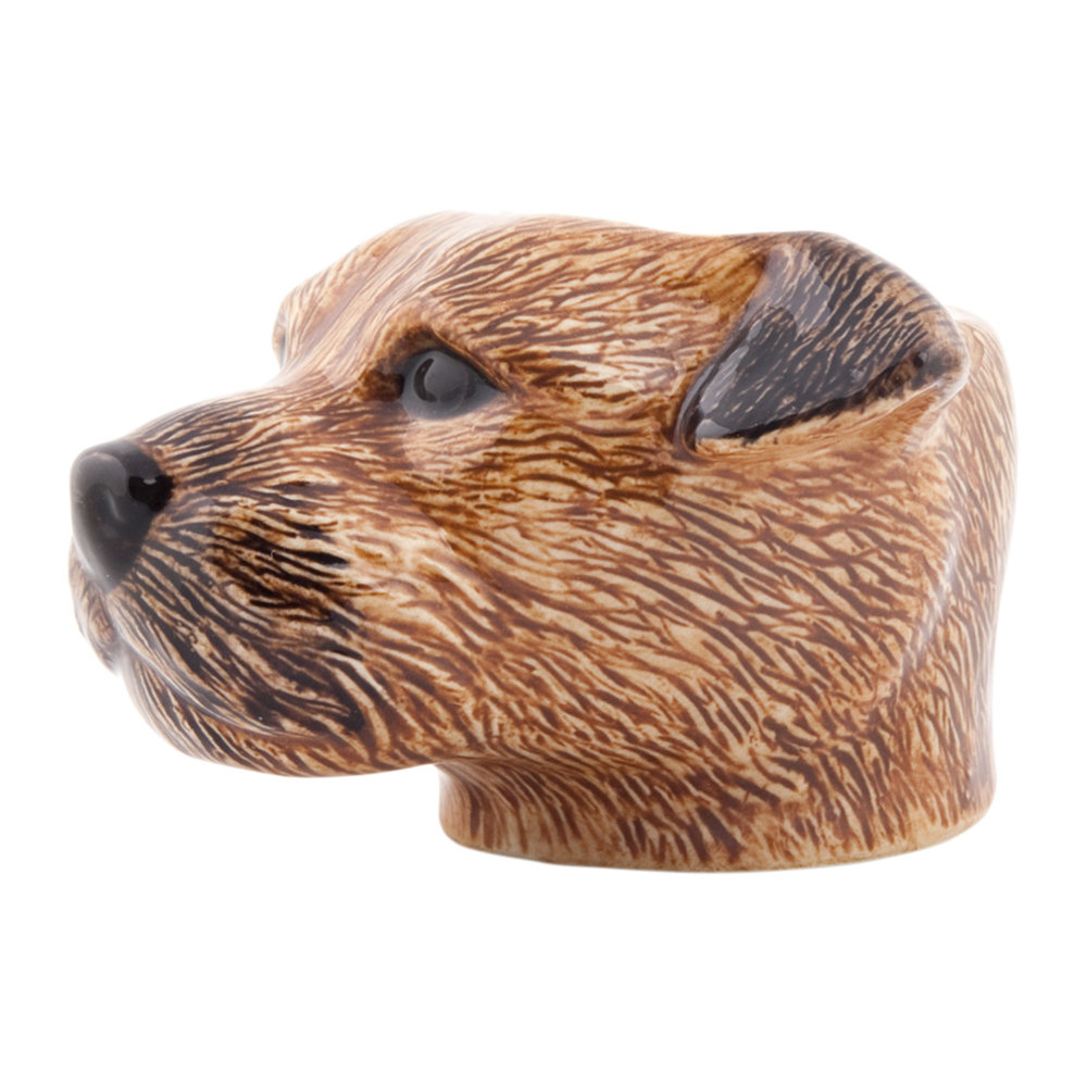Quail Ceramics - Border Terrier Egg Cup