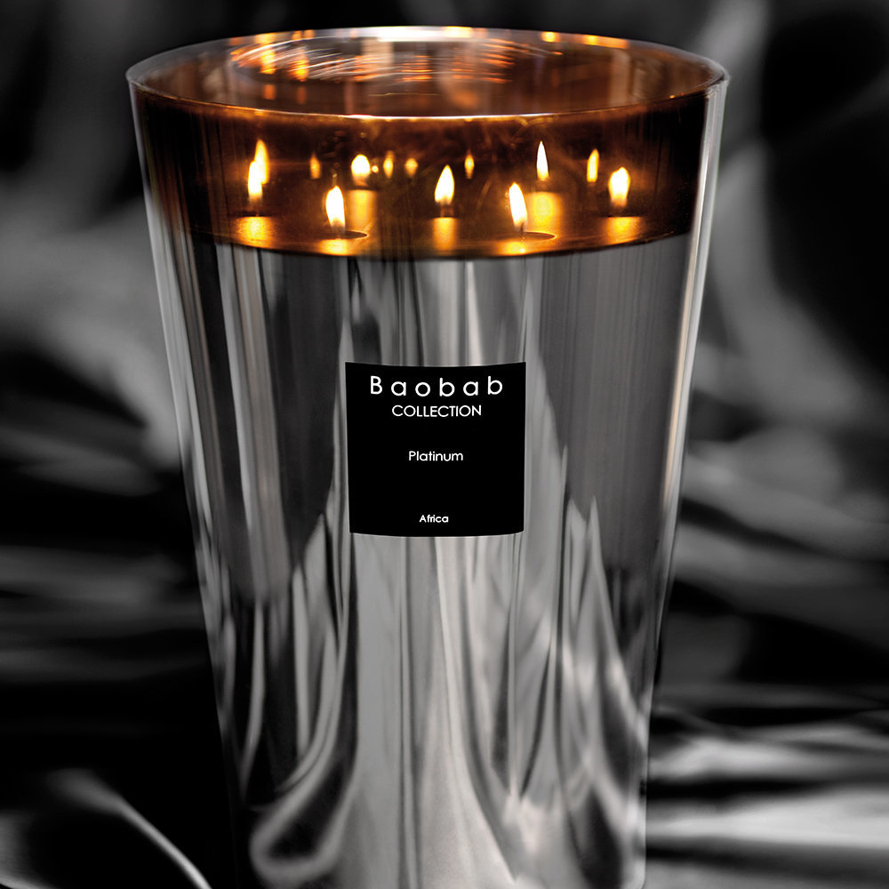 Buy Baobab Collection Platinum Scented Candle Amara